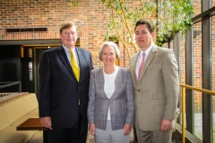 Dr. Shirley M. Tilghman and the Princeton Regional Chamber of Commerce