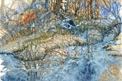 Frosty Hedgerow- Judith Hummer