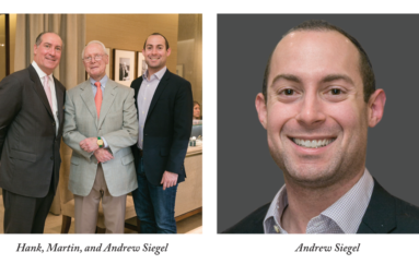Hamilton Jewelers Announces Arrival of Siegel Family's 4th Generation