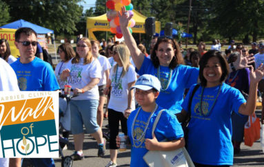 7th Annual Carrier Clinic Walk of Hope & Awareness Day