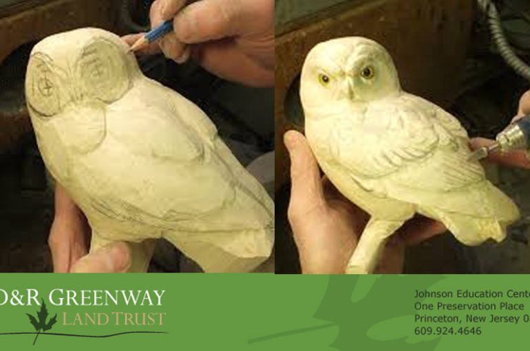 D&R Greenway Presents Lecture on the Art and Craft of Carving Birds