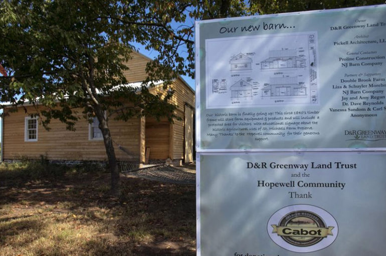 D&R Greenway Preserves Final 20 Acres, St. Michaels Farm Preserve in Hopewell