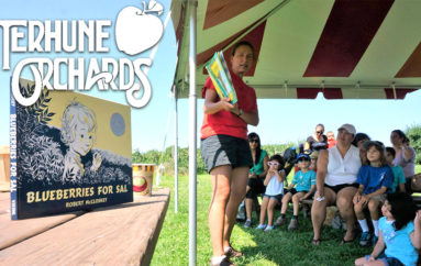 Children's Spring and Summer Read & Pick Program Begins at Terhune Orchards