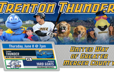 UWGMC Recognized as Trenton Thunder HOPE Week Honoree