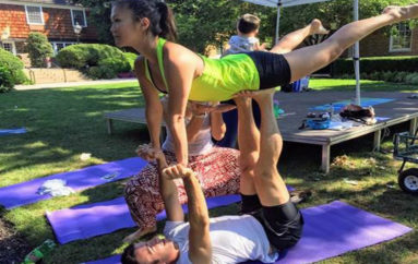 AcroYoga Comes to Princeton on August 5th