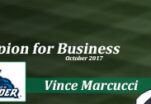October Champion for Business: Vince Marcucci
