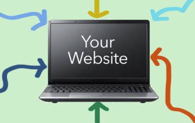 J&M MARKETING LISTS THE TOP WAYS PEOPLE FIND YOUR WEBSITE.