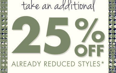 NIC+ZOE: Take an additional 25% Off!!