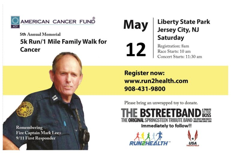 Memorial 5th Annual 5K and Concert for Cancer
