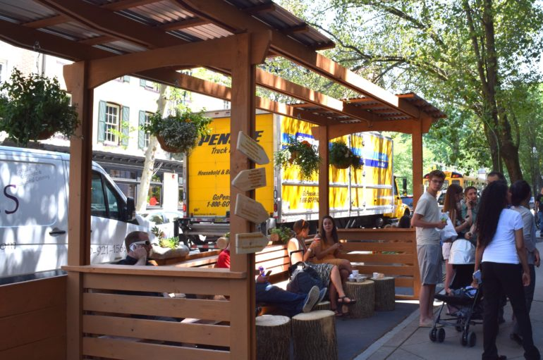 Arts Council of Princeton Announces Installation of Princeton Parklet
