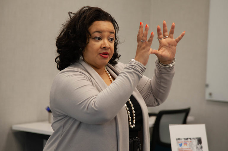 Shakira Brown Shares Strategies for Princeton Area Coaches