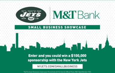 Jets and M&T Bank to Award a Business with a $100,000 Sponsorship