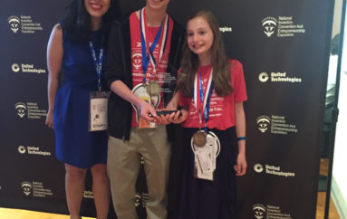 New Jersey Sibling Young Entrepreneurs Win Two National Inventor Awards