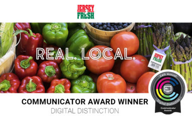 Princeton Partners Wins Communicator Award for FindJerseyFresh.com