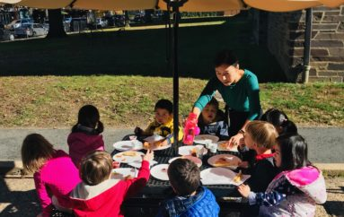 "Princeton University Preschool ""Grilled Cheez Sandwich Day"""