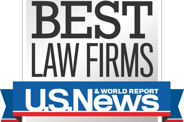 "Szaferman Lakind Named a Tier-1 Metropolitan ""Best Law Firm"" by U.S. News – Best Lawyers in 2019"