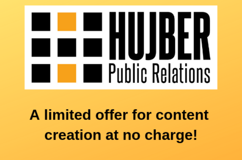 Hujber Public Relations Offering Promotion for the New Year