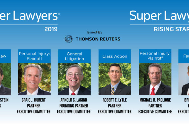 Eight Szaferman Lakind Attorneys Included in 2019 Super Lawyers List