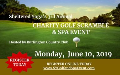 Sheltered Yoga's Third Annual Charity Golf Scramble & Spa Event