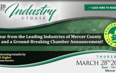 Princeton Mercer Regional Chamber in Partnership with County of Mercer to Host 2019 Mercer County Industry Update