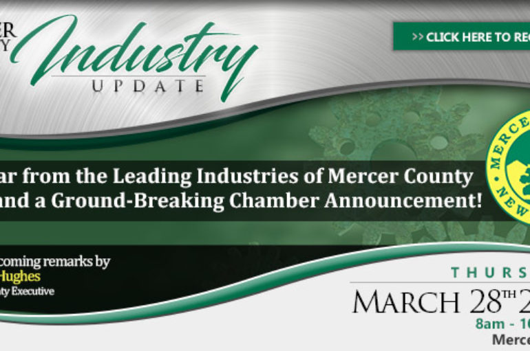 Princeton Regional Chamber of Commerce in Partnership with County of Mercer to Host 2019 Mercer County Industry Update