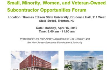 Treasury & EDA Hosting Follow-up Subcontractor Opportunity Forum to Boost Inclusivity in $225 Million State Office Building Development Project