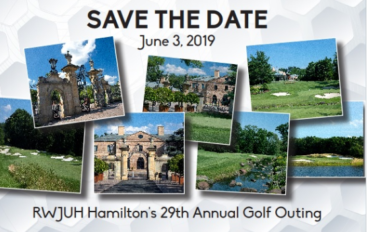 RWJUH Hamilton's 29th Annual Golf Outing