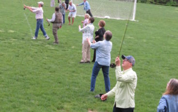 Twilight Fly-Fishing @ Rising of Full Moon: Orvis @ D&R Greenway in Stony Brook June 17