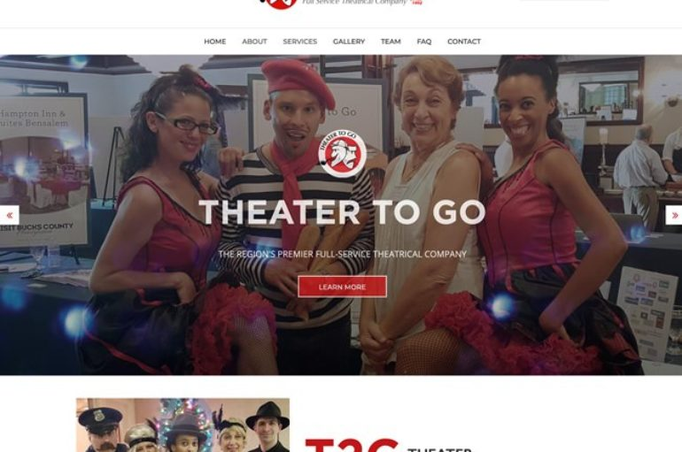 Theater To Go Launches a New Website