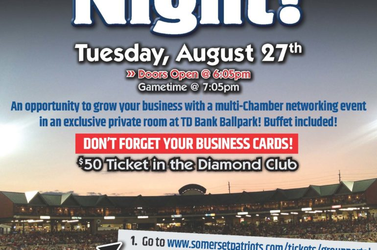 Somerset Patriots Multi-Chamber Networking Event