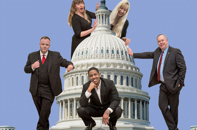 Capitol Steps – Benefit Performance on October 25th