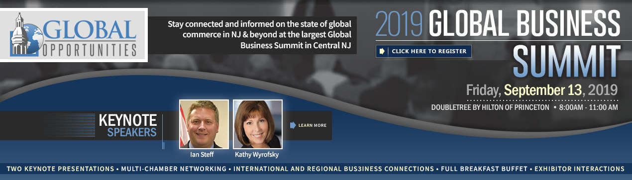 2019 Global Opportunities Summit. Click to Register!