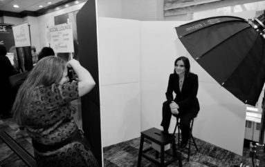 Over 100 women participated in our headshot sponsorship at the NJ Conference for Women