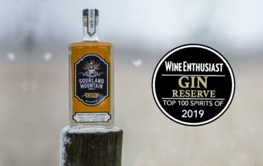 Sourland Mountain Spirits Named to Wine Enthusiast Top 100 Spirits Two Years in a Row