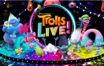 Trolls LIVE! Tour Coming to Trenton Poppy, Branch and All Their Trolls Friends Take Over CURE Insurance Arena, May 5 & 6