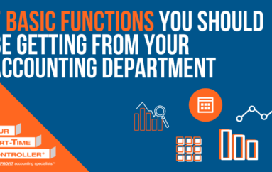 7 Basic Functions You Should Be Getting From Your Accounting Department