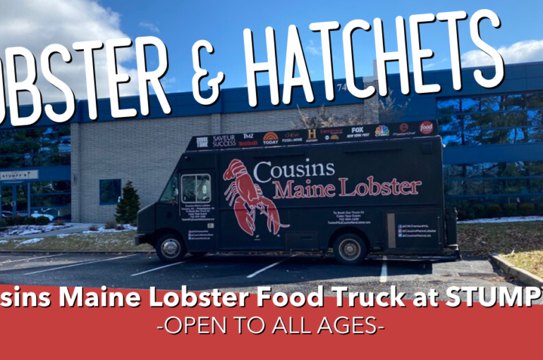Lobster & Hatchets Food Truck Event
