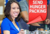 Allegra Princeton Re-stock's Our Local Food Pantry!