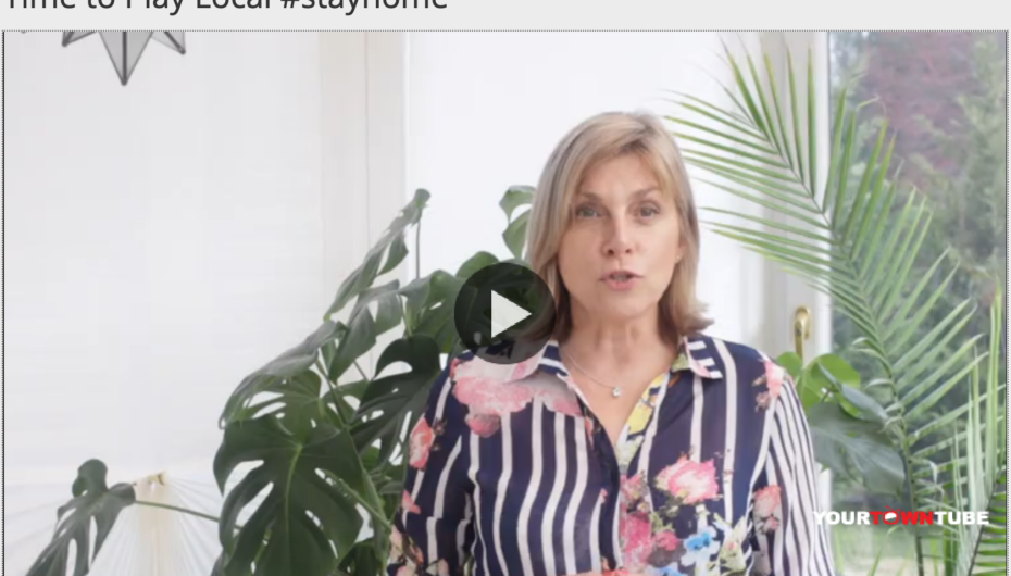 Time to Play Local #stayhome. Use Our 2 FREE Video Platforms to Get Your Messages Out.