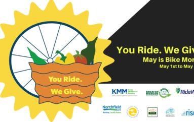 TMAs Partner with Food Banks for Bike Month