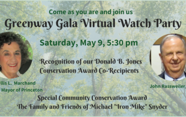 Greenway Gala (Virtual) Watch Party May 9, 5:30 p.m.