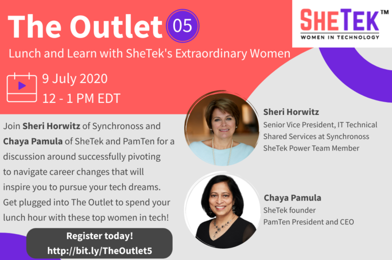 The Outlet 5 Webinar – Turn a Pivot into Career Success