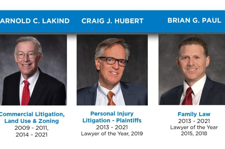 Five Szaferman Lakind Attorneys Named to 2021 Best Lawyers® List
