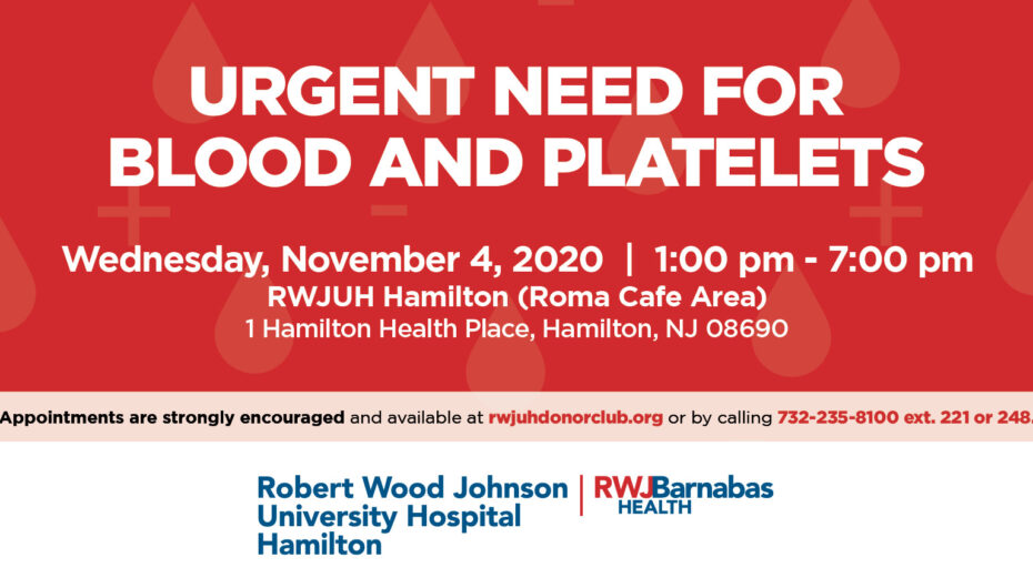 Urgent Need For Blood And Platelets