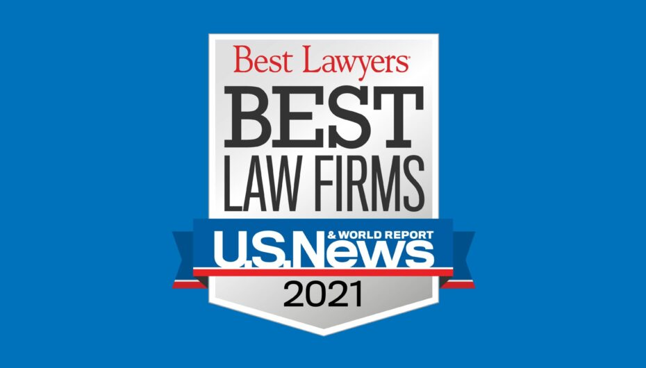 "Szaferman Lakind Included in 2021 ""Best Law Firms"" List by U.S. News"