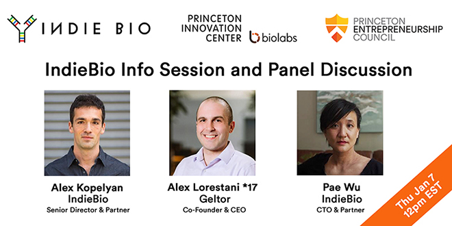 IndieBio Info Session and Panel Discussion