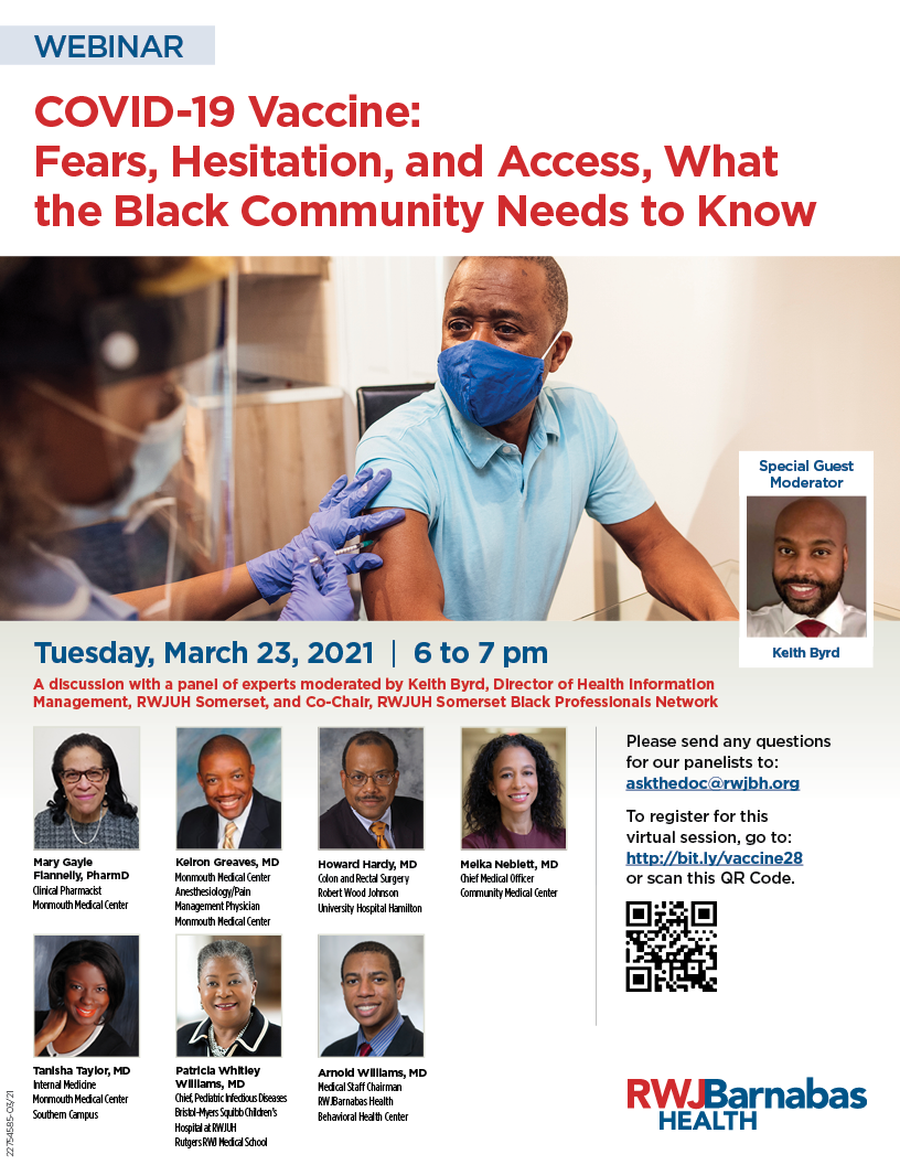 COVID-19 Vaccine: Fears Hesitation & Access: What the Black Community Needs to Know