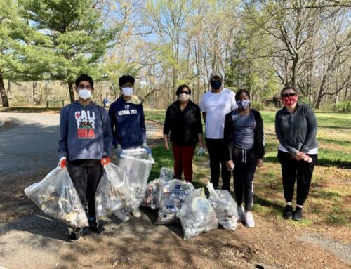 East Windsor Township And The Watershed Institute Participated In Stream Cleanup At Etra Lake Park